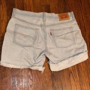 Levi 501 women's cutoff shorts size 28